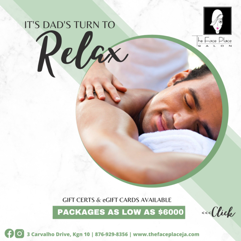 Face Place Father's Day Packages 2021
